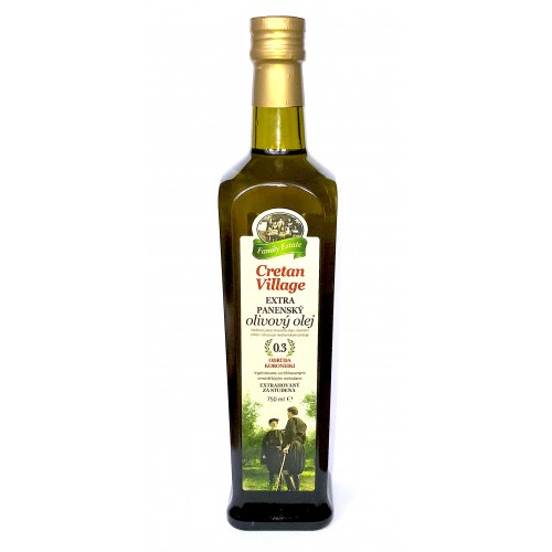 Olivový olej, extra panenský (750ml) - Cretan Village