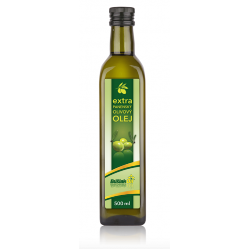 Extra panenský olivový olej, 500ml - BúšlakOil