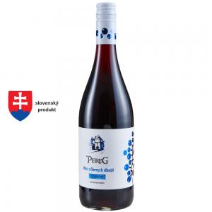 PEREG Víno z čierných ríbezlí - sparkling 0,75l