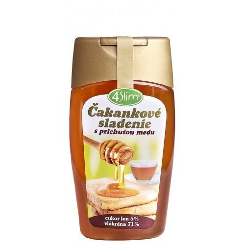 4Slim Čakankové sladenie s príchuťou medu - 250g