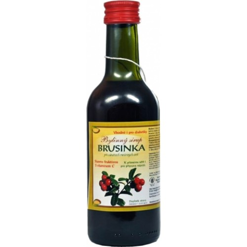 Brusnicový sirup 250ml