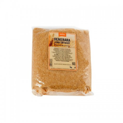Trstinový cukor Demerara, 1kg - Provita