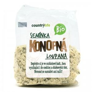 COUNTRY LIFE BIO Konopné semienka lúpané 100g