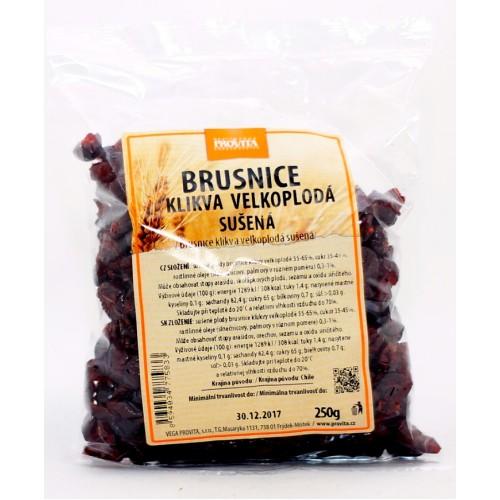 Brusnice, sušené (250g) - Provita
