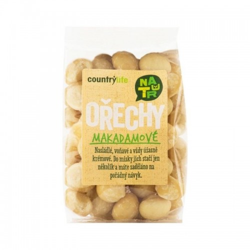 Makadamové orechy (80g) - Country Life