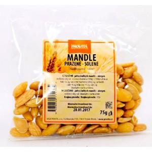 Mandle lúpané, pražené solené (75g) - Provita