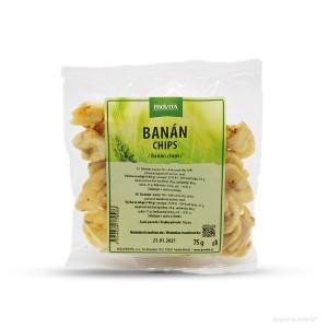 Provita banán chips, 75g