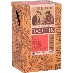 BASILUR Virgine Nature Hot Beats 20x2g (4140)
