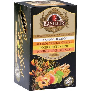 BASILUR Rooibos Assorted 25x1,5g (3984)