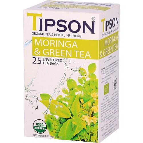 TIPSON BIO Moringa GreenTea 25x1,5g (5061)