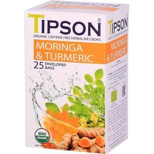 TIPSON BIO Moringa Turmeric 25x1,5g (5063)