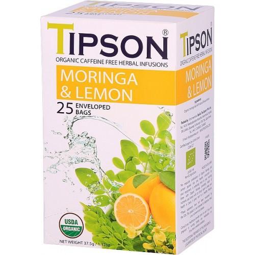 TIPSON BIO Moringa Lemon 25x1,5g (5065)