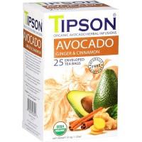 TIPSON BIO Avocado Ginger & Cinnamon 25x1,5g (5033)