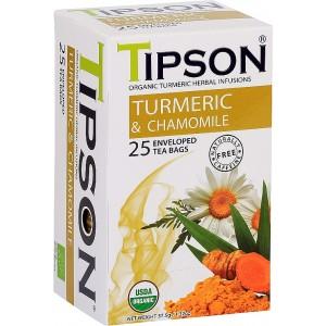 TIPSON BIO Turmeric & Camomile 25x1,5g (5016)