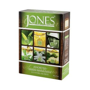 JONES Variace No.60 Green 6x10x1,5g (6511)