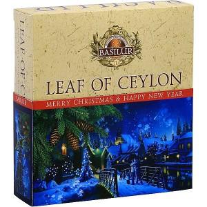 BASILUR Leaf of Ceylon Vánoční 010 Assorted 40E (4981)