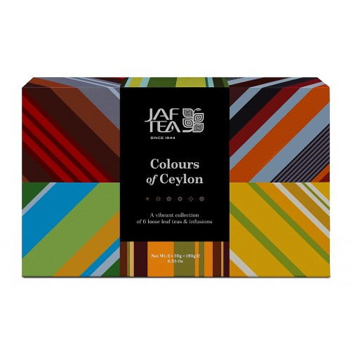 JAFTEA Box Colours of Ceylon Collection 6x30g (2914)