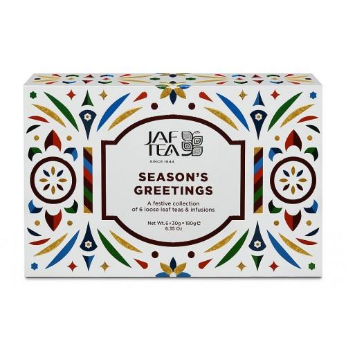 JAFTEA Box Seasons Greeting's Collection 6x30g (2915)