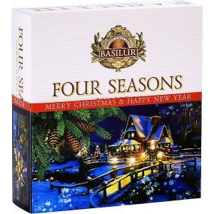 BASILUR Four Seasons Vianočný 009 Assorted 40E (4983)