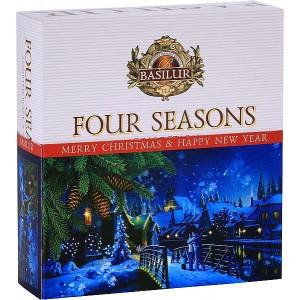 BASILUR Four Seasons Vánoční 010 Assorted, 40ks (4984)