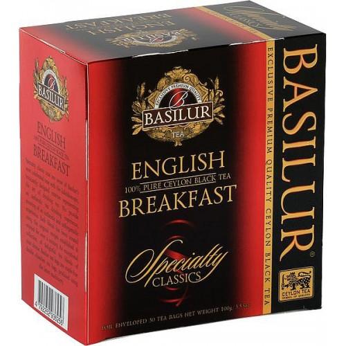 BASILUR Specialty English Breakfast, 50x2g (7720)