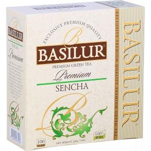 BASILUR Premium Sencha, 100x2g (3898)