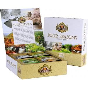 BASILUR Four Seasons Assorted 40 gastro sáčkov (7405)