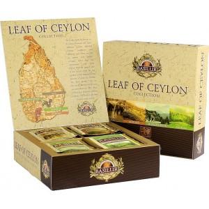 BASILUR Leaf of Ceylon Assorted 40ks (4909)