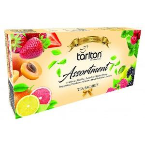 TARLTON Assortment 10 Flavour Black Tea, 100x2g (7090)