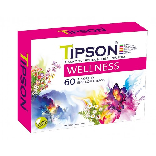 TIPSON Wellness Kazeta Variace 60x1,3g (5056)
