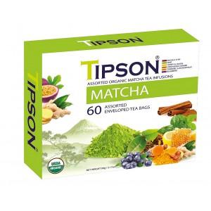TIPSON BIO Matcha Kazeta Variace 60x1,5g (5076)