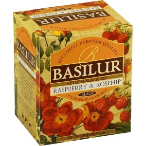 BASILUR Magic Raspberry & Rosehip 10x2g (4942)