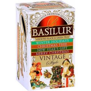 BASILUR Vintage Assorted papier 15x2g a 5x1,5g (3945)