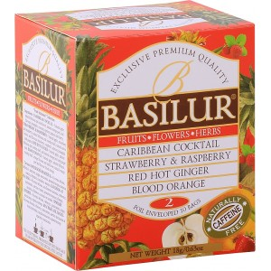 BASILUR Fruit Infusions Assorted Volume II. 10x1,8g (4961)