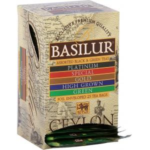 BASILUR Island of Tea Assorted 20x2g a 5x1,5g (7695)