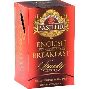 BASILUR Specialty English Breakfast papier 20x2g (7756)