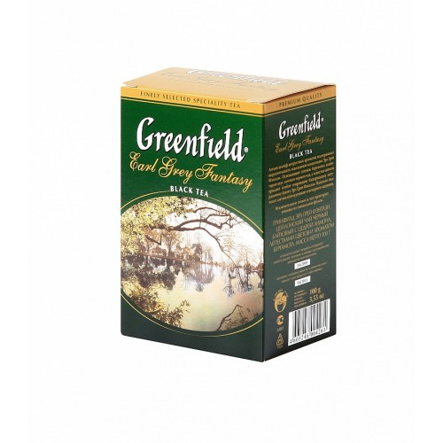 GREENFIELD GF Black Earl Grey Fantasy 100g (5506)