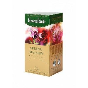 Greenfield Black Spring Melody 25x1.5g (5599)