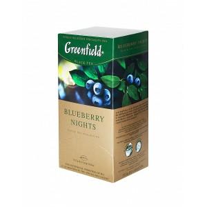 Greenfield Black Blueberry Nights 25x1.5g (5604)