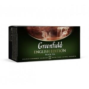 Greenfield Classic Black English Edition 25x2g (5567)