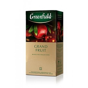 Greenfield Black Grand Fruit 25x1,5g (5531)