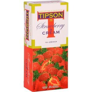 TIPSON Strawberry Cream 25x2g (7850)