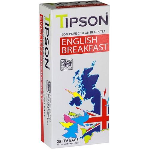 TIPSON English Breakfast 25x2g (7843)
