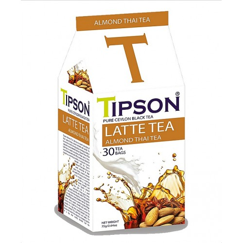 TIPSON Latte Tea Almond Thai Tea 30x2,5g (5090)