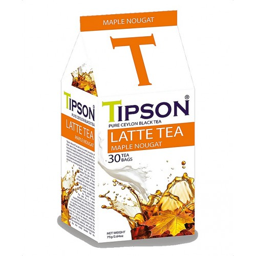 TIPSON Latte Tea Maple Nougat 30x2,5g (5092)