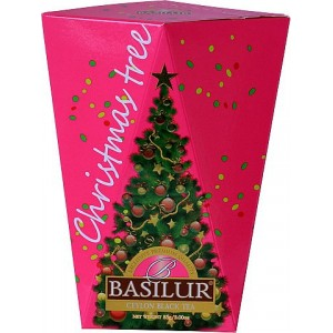 BASILUR Christmas Tree Colour Purple papier 85g (4177)