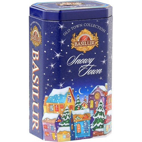 BASILUR Old Town Snowy Town (Blue) plech 75g (4515)