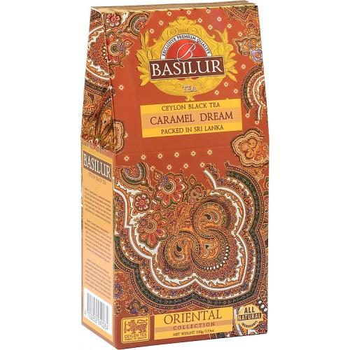 BASILUR Orient Caramel Dream papier 100g (7659)