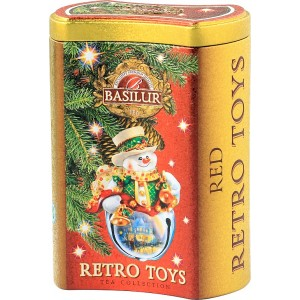 BASILUR Retro Toys Red plech 75g (4507)
