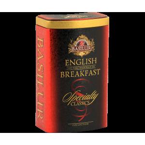BASILUR Specialty English Breakfast plech 100g (7712)